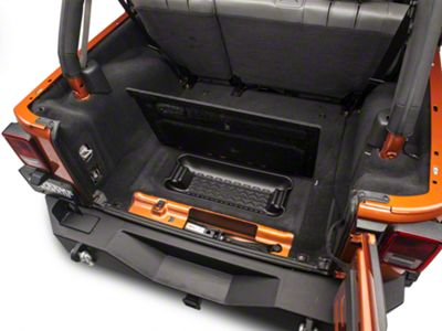 Rugged Ridge Rear Cargo Area Storage Bin (07-10 Jeep Wrangler JK)
