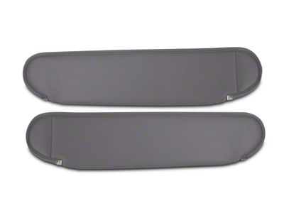 Rugged Ridge Replacement Sun Visors - Gray (87-95 Jeep Wrangler YJ)