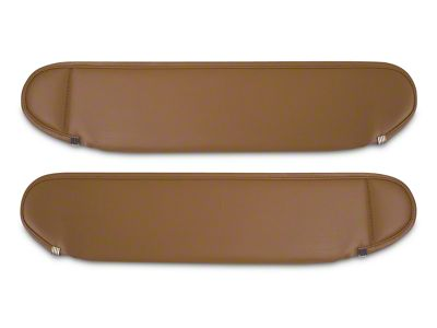 Rugged Ridge Replacement Sun Visors - Spice (87-95 Jeep Wrangler YJ)