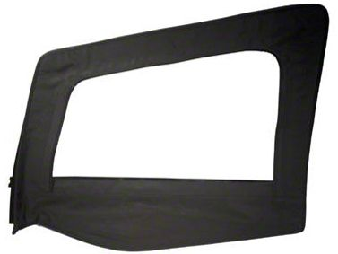 Smittybilt Replacement Upper Door Skin w/ Frame - Driver Side (87-95 Jeep Wrangler YJ)