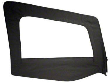 Smittybilt Replacement Upper Door Skin w/ Frame - Passenger Side (87-95 Jeep Wrangler YJ)