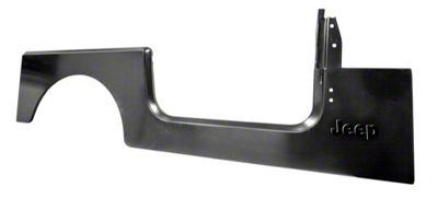 Omix-ADA Right Side Side Panel Stamped w/ Jeep Logo (87-95 Jeep Wrangler YJ)