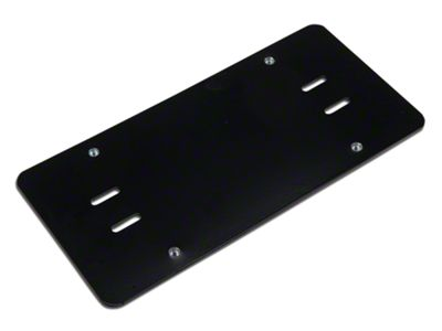 Rugged Ridge Roller Fairlead License Plate Mounting Bracket