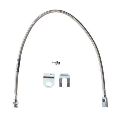 Rubicon Express Rear Stainless Steel Brake Line for 3.5-5.5 in. Lift (97-06 Jeep Wrangler TJ)