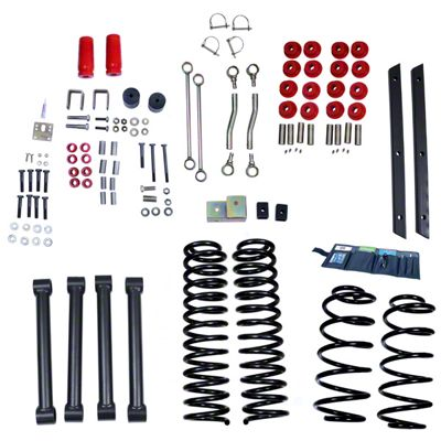 Rugged Ridge 4 in. Lift Kit w/o Shocks (03-06 Jeep Wrangler TJ)