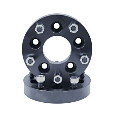Rugged Ridge 1.25 in. Wheel Adapters - 5x4.5 to 5x5.5 (87-06 YJ & TJ Jeep Wrangler)