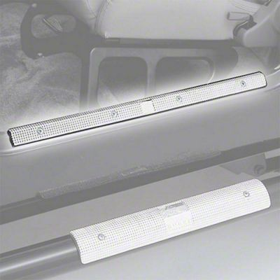 Rugged Ridge Brite Aluminum 24 in. Entry Guards (87-95 Jeep Wrangler YJ)