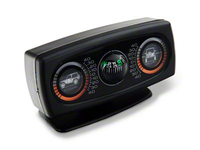 Rugged Ridge Clinometer w/ Graphic and Compass