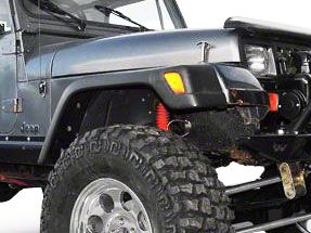 Omix-ADA Factory Style Front Replacement Fender Flare - Passenger Side (97-06 Wrangler TJ)