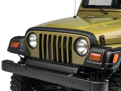 Rugged Ridge Full Body Armor Kit - Diamond Textured Black Plastic (97-06 Jeep Wrangler TJ)