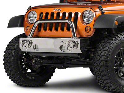 Rugged Ridge Over Rider Center Hoop - Stainless (07-18 Jeep Wrangler JK)