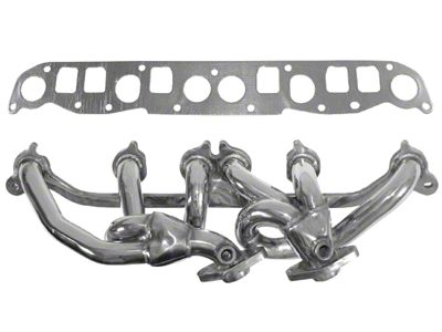 Rugged Ridge Stainless Steel Exhaust Header - Polished (00-06 4.0L Jeep Wrangler TJ)