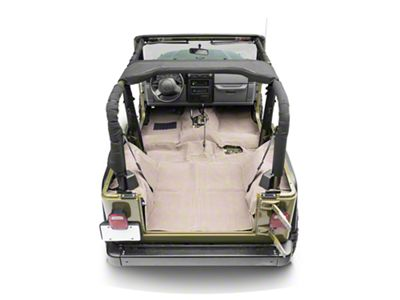 Rugged Ridge Deluxe Complete Carpet Kit - Honey (97-06 Jeep Wrangler TJ)