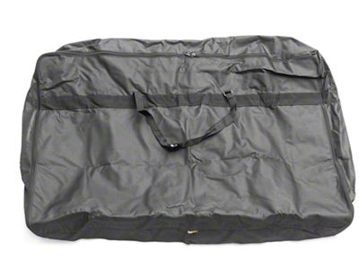 Rugged Ridge Soft Top Window Storage Bag - Black (87-06 Jeep Wrangler YJ & TJ)