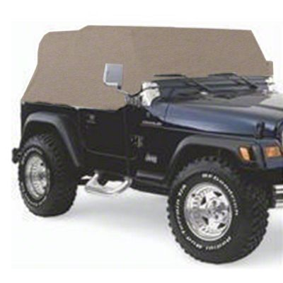 Smittybilt Spice Water Resistant Cab Cover (92-06 Jeep Wrangler YJ & TJ)