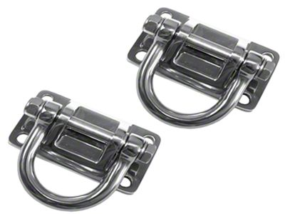 Rugged Ridge Stainless Steel D-Rings for XHD Bumpers