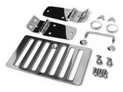 Smittybilt Stainless Steel Hood Kit (98-06 Jeep Wrangler TJ)