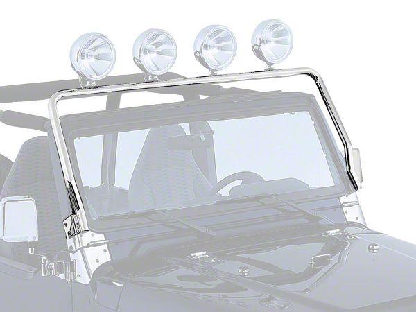 Rugged Ridge Stainless Steel Light Bar (97-06 Jeep Wrangler TJ)