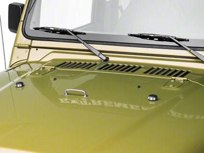 Rugged Ridge Stainless Steel Tie Down Kit for Windshield Frame (97-06 Jeep Wrangler TJ)
