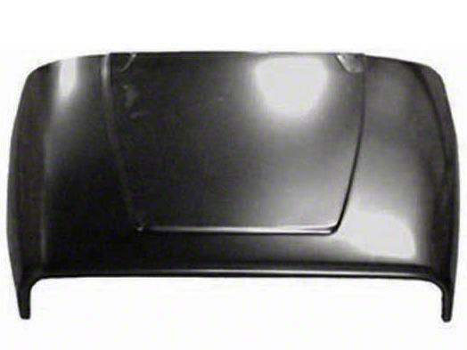 Omix-ADA Steel Hood - Unpainted (87-95 Jeep Wrangler YJ)