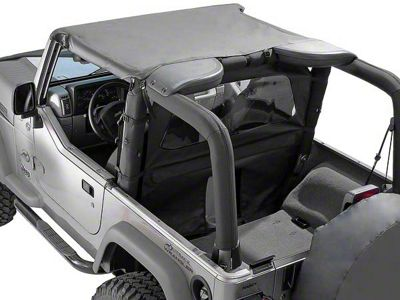Rugged Ridge Summer Brief Top - Gray (87-91 Jeep Wrangler YJ)