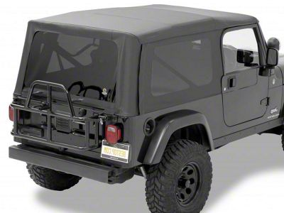 Bestop Supertop NX Soft Top - Black Diamond (04-06 Jeep Wrangler TJ Unlimited)