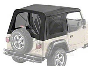 Bestop Supertop Classic Replacement Skin w/ Tinted Windows (97-02 Jeep Wrangler TJ w/ Factory Soft Top)