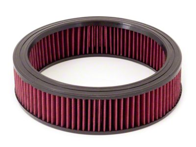 Rugged Ridge Reusable Round Synthetic Air Filter (87-90 4.2L Jeep Wrangler YJ)