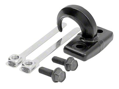 Rugged Ridge Rear Tow Hook - Black (97-06 Jeep Wrangler TJ)