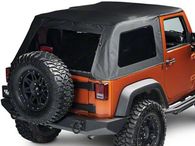 Bestop Trektop Classic Complete Replacement Soft Top (07-18 Jeep Wrangler JK 2 Door)