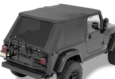 Bestop Trektop NX Soft Top - Black Diamond (04-06 Jeep Wrangler TJ Unlimited)
