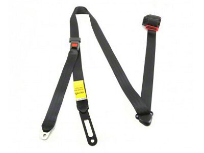 Omix-ADA 3-Point Tri-Lock Off Road Seat Belt - Front or Rear (92-95 Jeep Wrangler YJ)