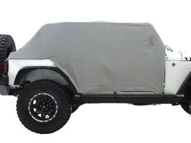 Smittybilt Water Resistant Cab Cover w/ Door Flaps (07-18 Jeep Wrangler JK 4 Door)