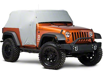 Rugged Ridge Weather Lite Cab Cover (07-18 Jeep Wrangler JK 2 Door)