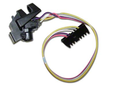 Omix-ADA Wiper Switch w/o Intermittent Wipers or Steering Tilt (87-95 Jeep Wrangler YJ)