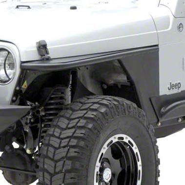 Smittybilt XRC Armor Front Tube Fenders w/ 3 in. Flare (97-06 Wrangler TJ)