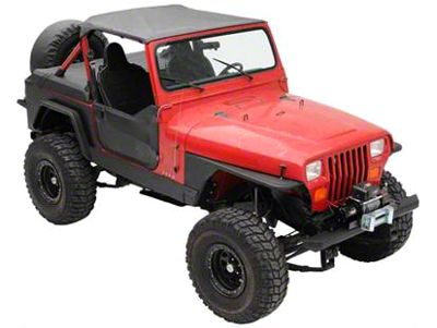 Smittybilt XRC Rock Sliders (87-95 Jeep Wrangler YJ)