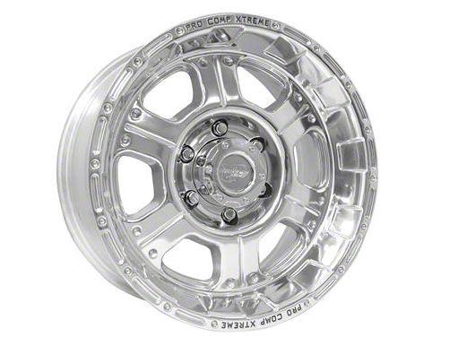 Pro Comp Series 1089 Wheel, Polished, 5x5 - 17x8 (07-18 Jeep Wrangler JK; 2018 Jeep Wrangler JL)