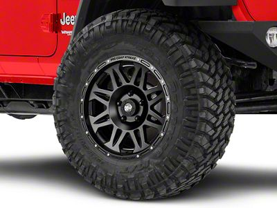 Pro Comp Alloy Series 7005 Flat Black Wheel - 17x8 (18-19 Jeep Wrangler JL)