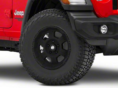 Pro Comp Alloy Series 7089 Flat Black Wheel - 17x8 (18-19 Jeep Wrangler JL)