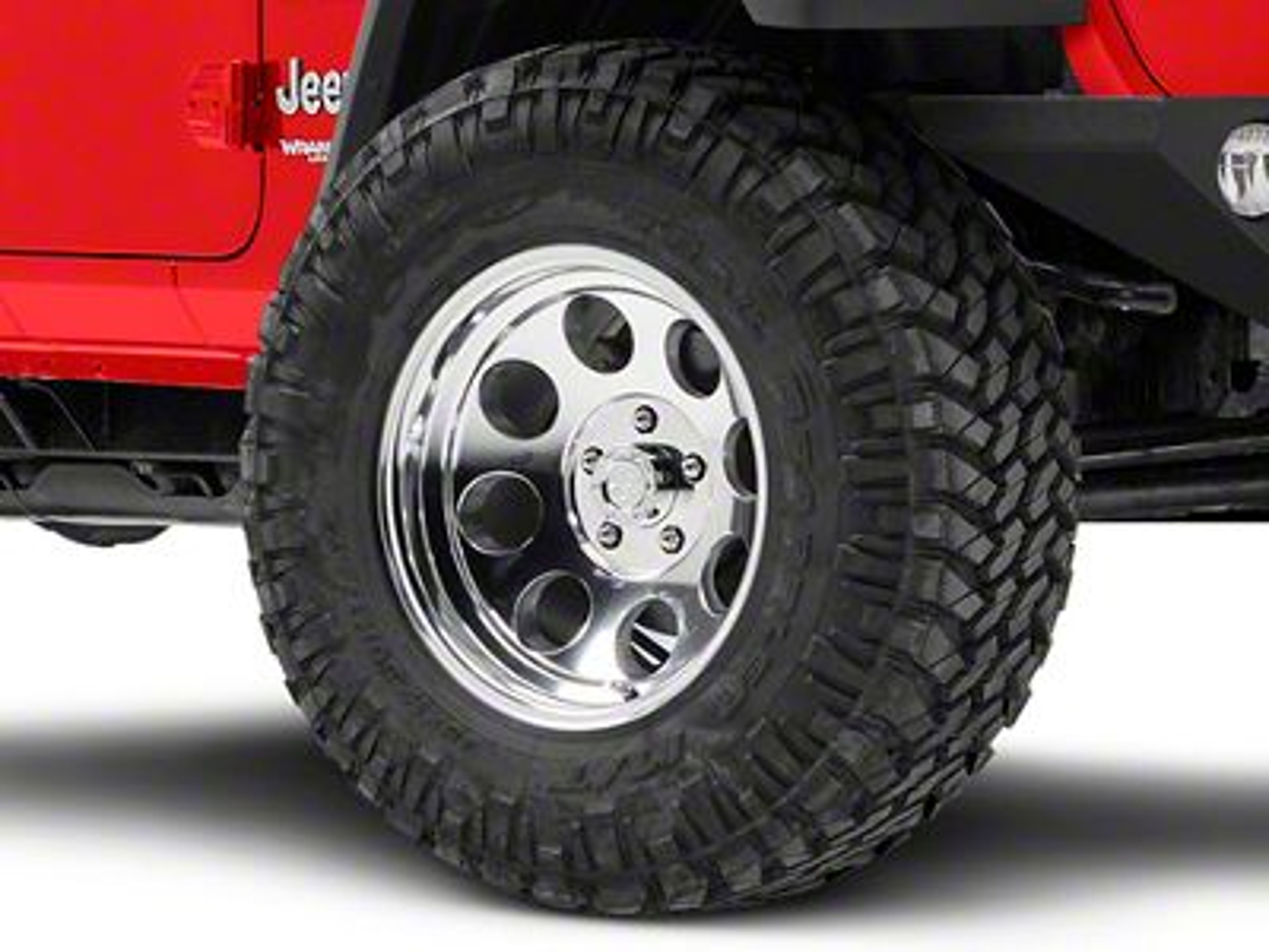 Pro Comp Wheels Series 1069 Polished Wheel - 17x9 (18-19 Jeep Wrangler JL)