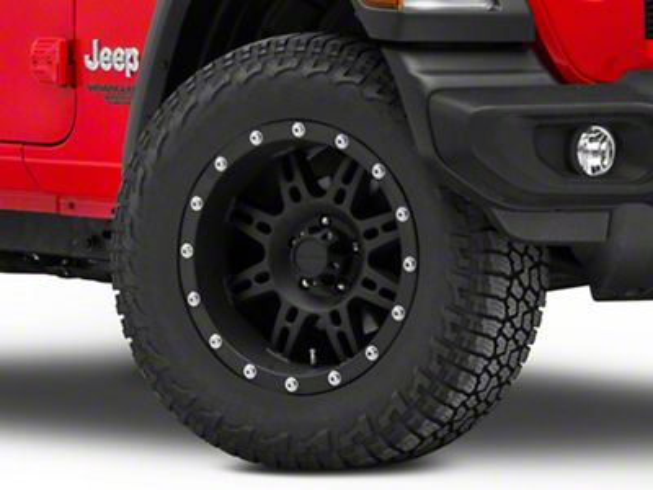Pro Comp Wheels Alloy Series 7031 Flat Black Wheel - 18x9 (18-19 Jeep Wrangler JL)