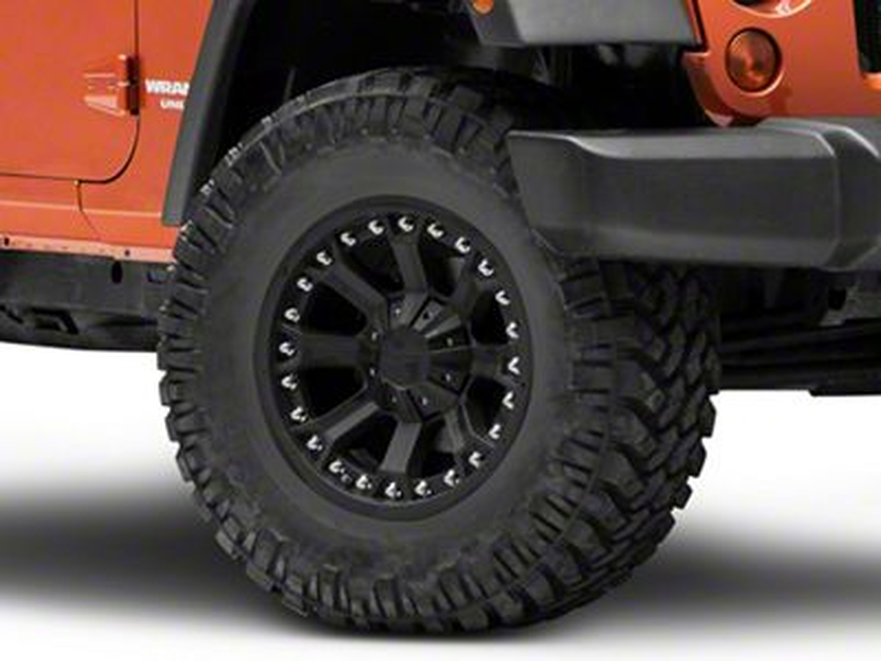 Pro Comp Alloy Series 7033 Flat Black Wheel - 17x9 (07-18 Jeep Wrangler JK)