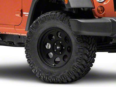 Pro Comp Alloy Series 7069 Flat Black Wheel - 17x9 (07-18 Jeep Wrangler JK; 2018 Jeep Wrangler JL)