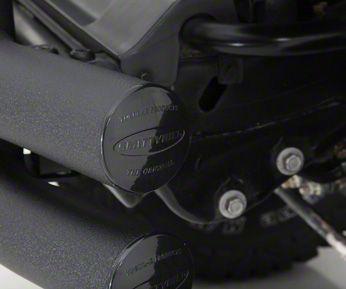Smittybilt Tubular Rear Bumper w/ Hitch - Gloss Black (07-18 Jeep Wrangler JK)