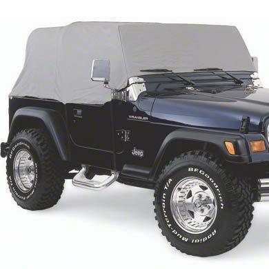 Smittybilt Cab Cover w/o Door Flap - Spice (92-06 Jeep Wrangler YJ & TJ)