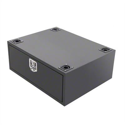 Smittybilt Security Storage Vault - Rear Lockable Storage Box (07-19 Jeep Wrangler JK & JL)