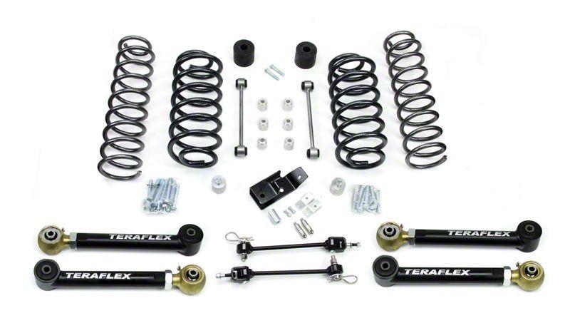 Teraflex 3 in. Lift Kit w/o Shocks (97-06 Jeep Wrangler TJ)