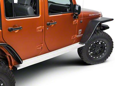 Teraflex Rock Slider KIT NO PAINT (07-18 Jeep Wrangler JK 4 Door)