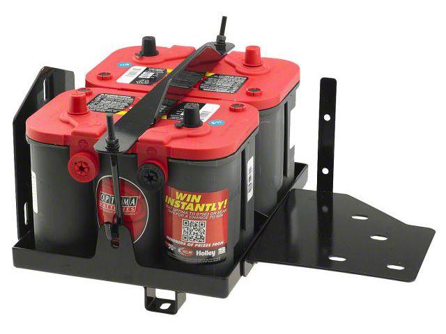 Smittybilt Dual Battery Tray (07-11 Jeep Wrangler JK)
